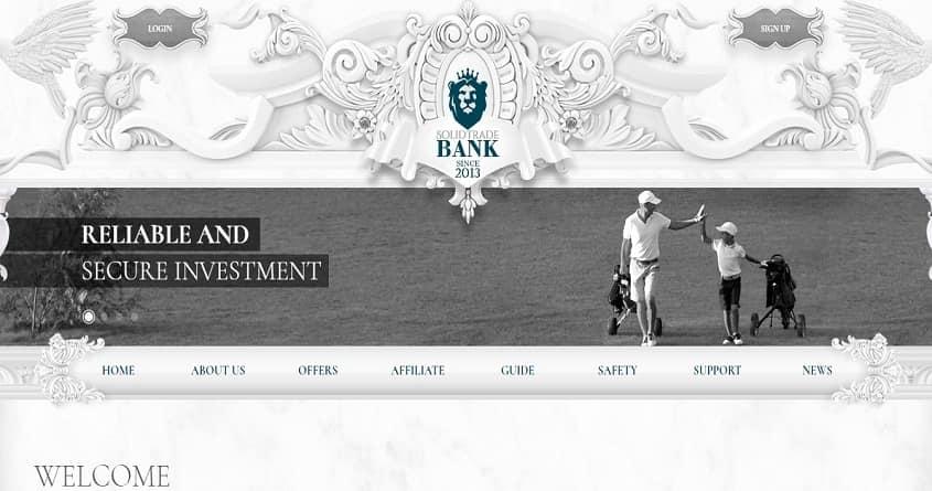 SolidTradeBank: обзор гиганта, отзывы о solidtradebank.com, работает 6 лет