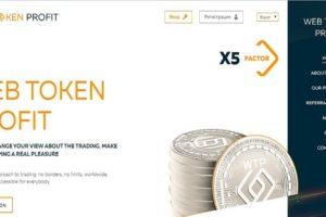 Web Token Profit: обзор крипто стартапа, отзывы webtokenprofit.com, страховка 150$