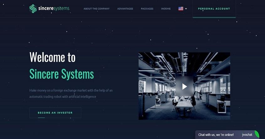Sincere Systems: обзор проекта с плавающей доходностью, отзывы о sincere.systems. Страховка 150$.