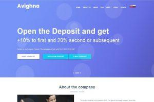 Avighna обзор хайп проекта отзывы о avighna.website. Плачу повышенный рефбек 12%