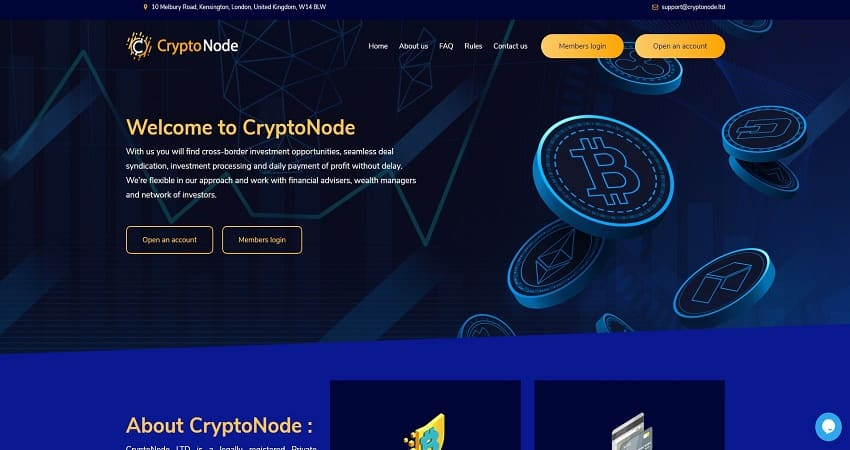 CryptoNode обзор арбитражного проекта отзывы о cryptonode.ltd. Плачу повышенный рефбек 7%. Есть страховка 200$