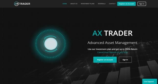 Axtrader: обзор проекта-копилки, отзывы об axtrader.com. Плачу повышенный рефбек 10%, страховка 150$ (Прекратил работу)