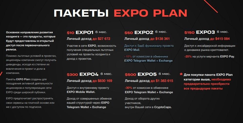 Expo: обзор инвестиционного проекта, отзывы об expo.biz. Плачу рефбек 6%, страховка 150$ (Прекратил работу)