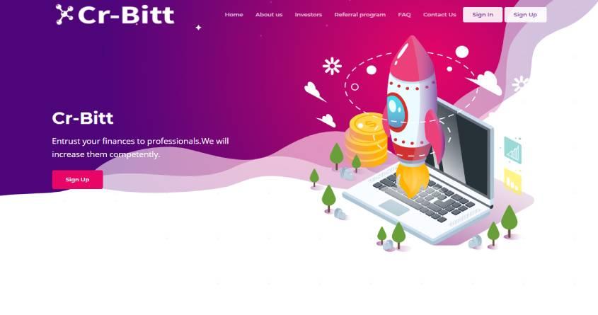 Cr-Bitt: обзор почасового проекта, отзывы об cr-bitt.pro. Плачу рефбек 7%, страховка 150$ (Прекратил работу)