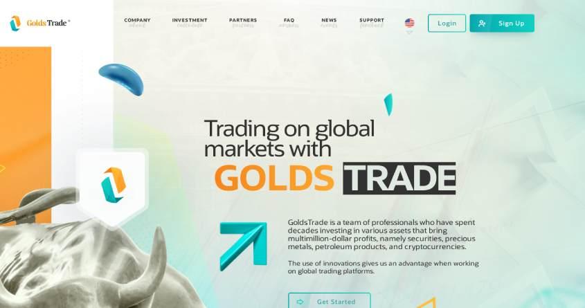Golds Trade: обзор классной новинки от ТОП админа, отзывы о goldstrade.com. Плачу рефбек 7%, страховка 500$